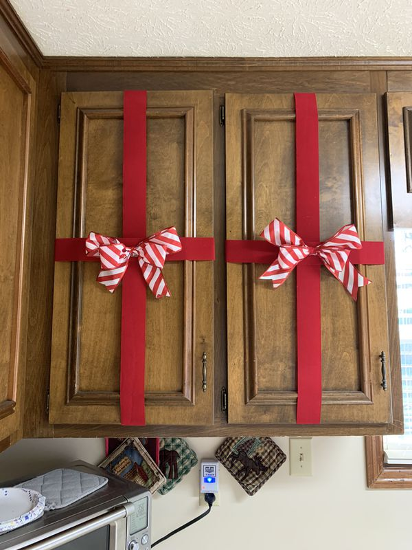 Transform Kitchen cabinets into festive Presents for Sale ...