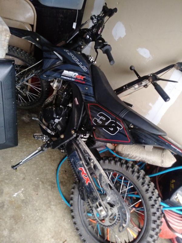 2017 250 apollo rx dirt bike