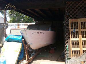 Cool Old Boat-Motor & Trailer for Sale in Santa Monica, CA