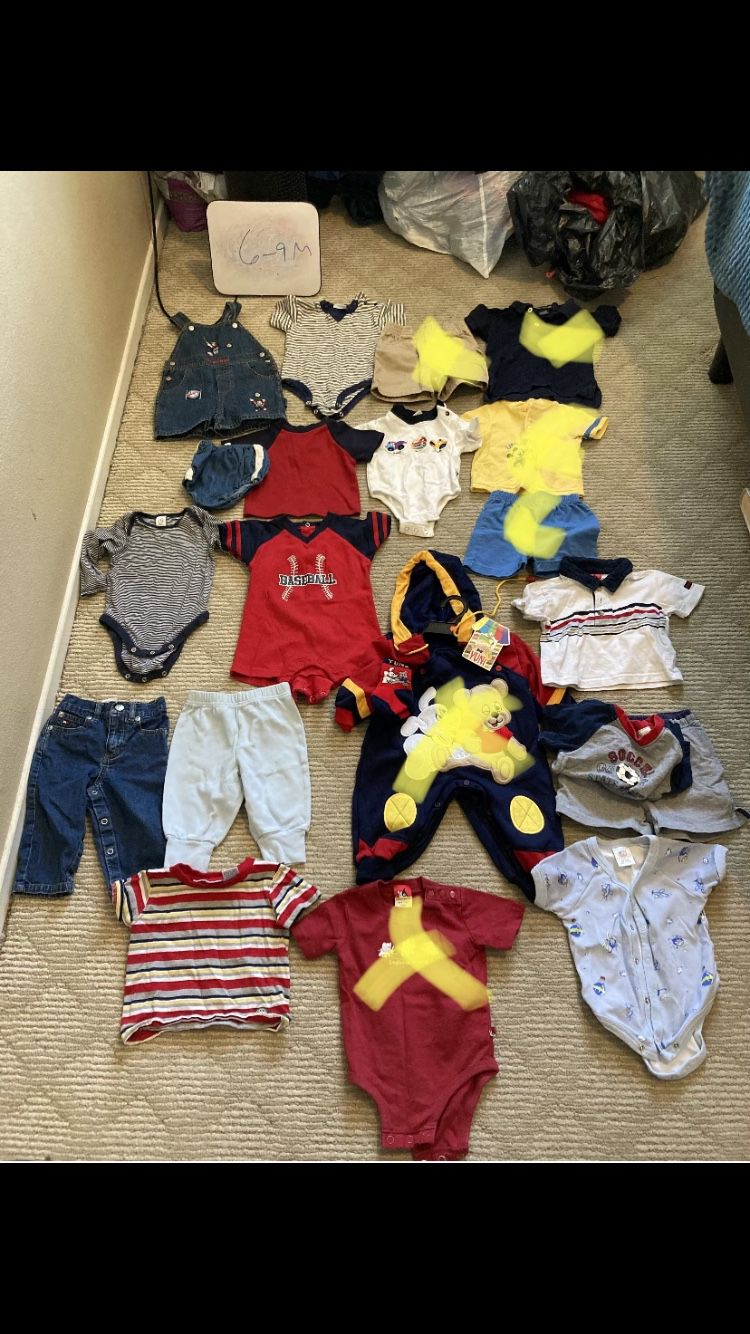 Baby Boy Clothes On Hold For Adriene (6-12M)