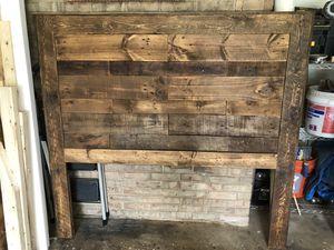 Rustic Queen Headboard for Sale in Rockville, MD