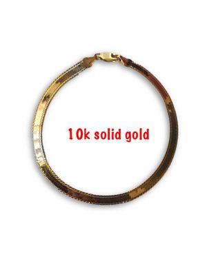10k Bracelet for Sale in Alexandria, VA