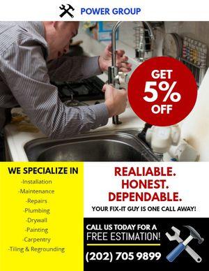 Handyman services for Sale in Alexandria, VA