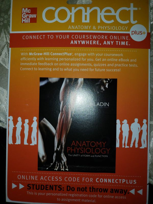 Mcgraw Hill Connect Plus Anatomy Physiology For Sale In Miami Fl