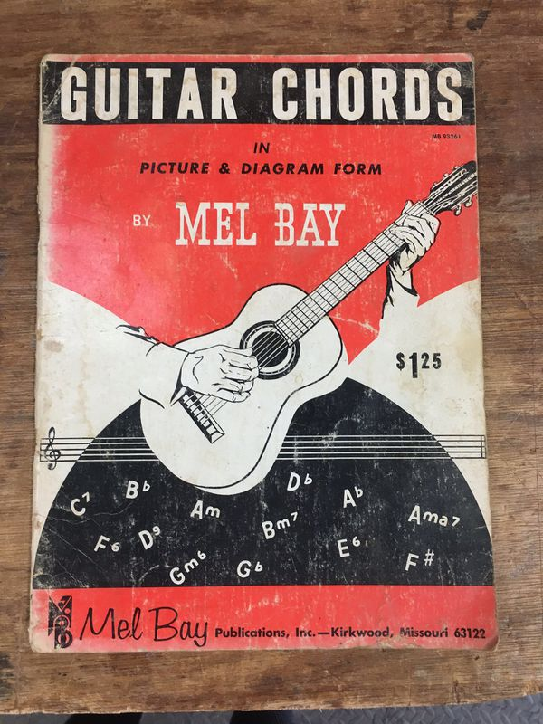 Guitar Chords By Mel Bay For Sale In La Conner Wa Offerup