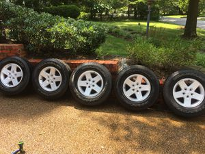2017 Jeep Wrangler Stock Wheels and Tires for Sale in Pimmit Hills, VA
