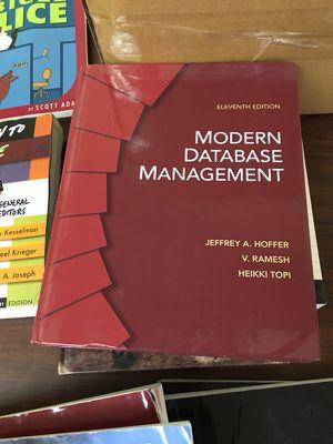 Modern Database Management - 11th Ed. - Hoffer, Ramesh, Topi for Sale in Miami, FL