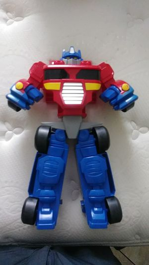 Big collectible optimus prime transformer toy for Sale in Tolleson, AZ