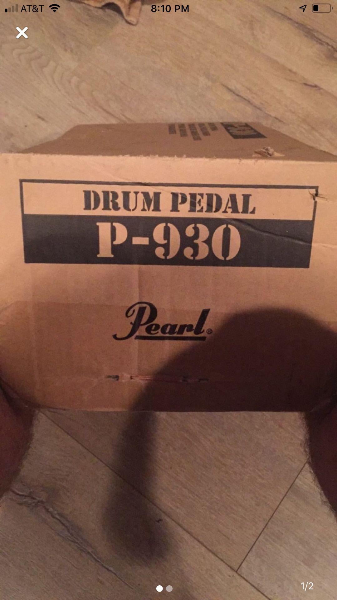 Pearl p930 drum pedal kick