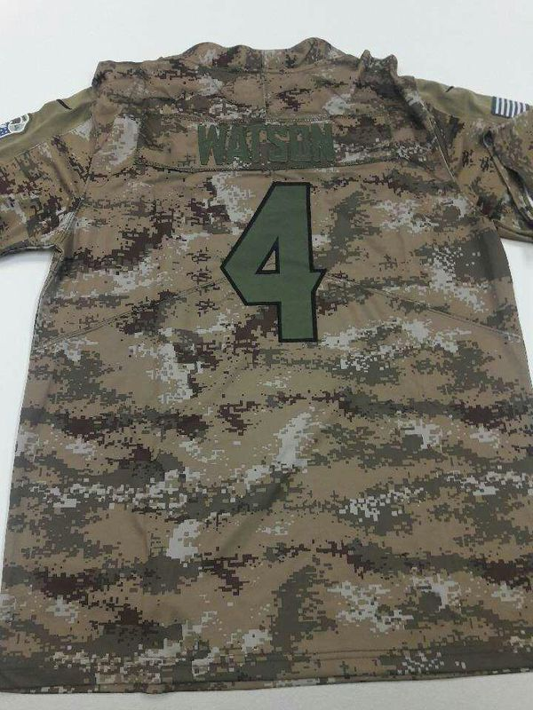 41ed98cd9f1 Texans jersey Deshaun Watson mens salute to service new for Sale in ...