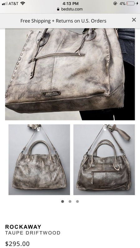 9296f0f804e0 BedStu Taupe Rockaway Driftwood Tote Bag for Sale in Tempe