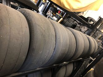 """Race tires new and used. 18"""" sizing. 250-300 width. Thumbnail"""