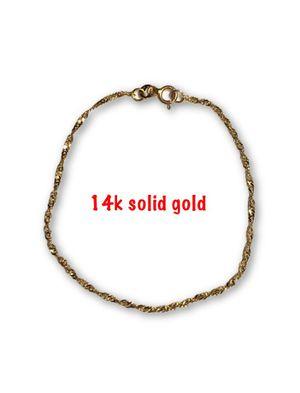 14k twisted bracelet for Sale in Alexandria, VA