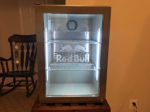 Fridge small size stainless steel, two shelf's for Sale in Annandale, VA