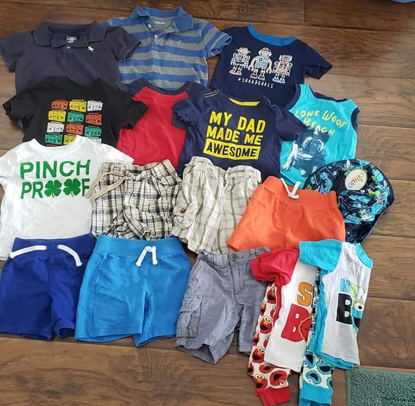 c1bb6dc24f75 12-18 Summer boy clothes for Sale in Victorville