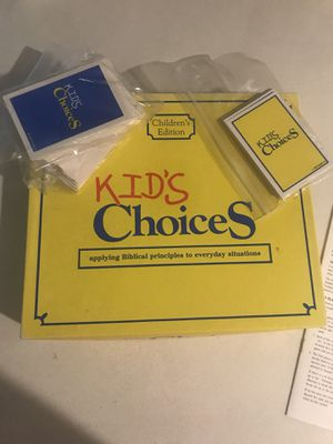 Kid's Choices Game for Sale in Kirkland, WA