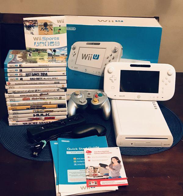 Nintendo Wii U 16 Games - Zelda Smash Bros MORE!! for Sale in San Antonio,  TX - OfferUp