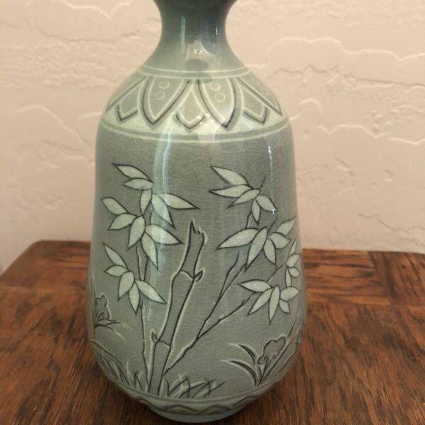 Authentic Original Korean Celadon Vase