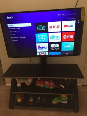 "Samsung smart 46"" tv with stand and mount for Sale in Richmond, VA"