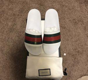34a4cbf7c Black Gucci Slides - White (Sold) - Size 8 for Sale in Killeen,