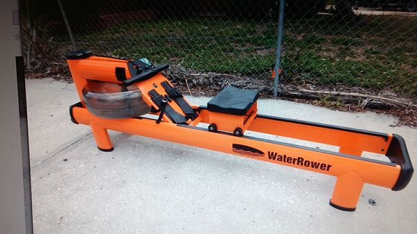 Waterrower M1 HiRise Rowing Machine S4 Monitor MSRP $1900 for Sale in  Tampa, FL - OfferUp