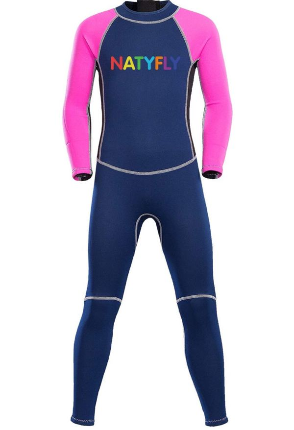 fd47fbad146 NATYFLY Neoprene Wetsuits for Kids Boys swimming suits   Girls Back Zipper  One Piece Swimsuit UV Protection for Sale in SeaTac