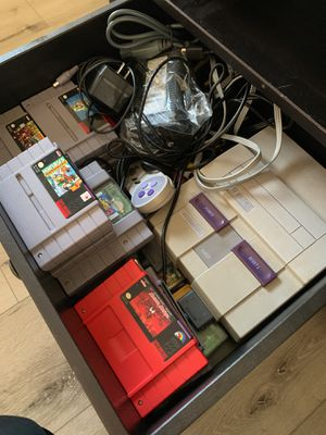 Super Nintendo with a ton of games for Sale in Orlando, FL