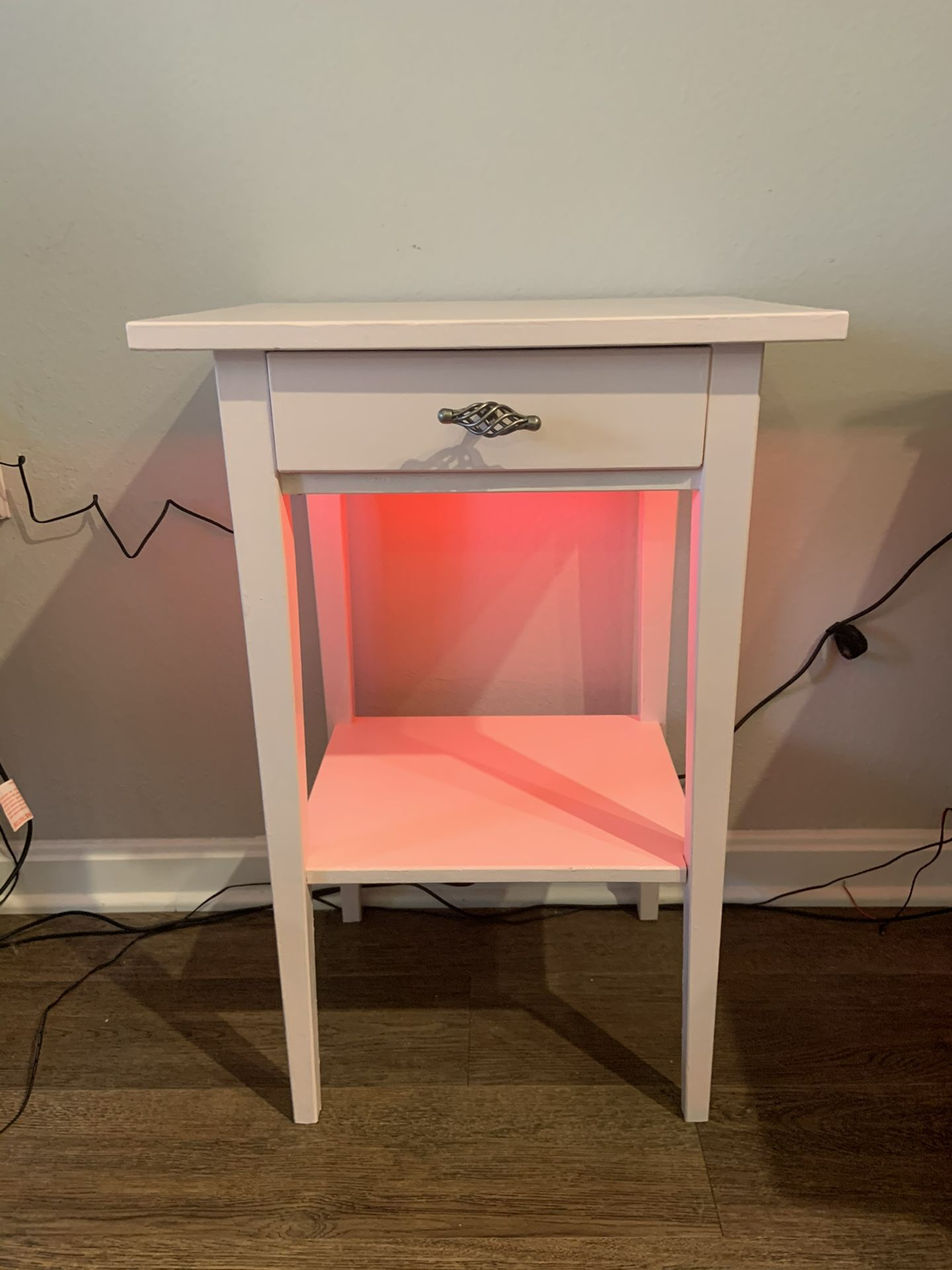 Baby Pink Color Table