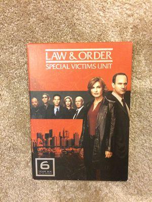 Law & Order SVU - DVDs (season 6) for Sale in Kensington, MD