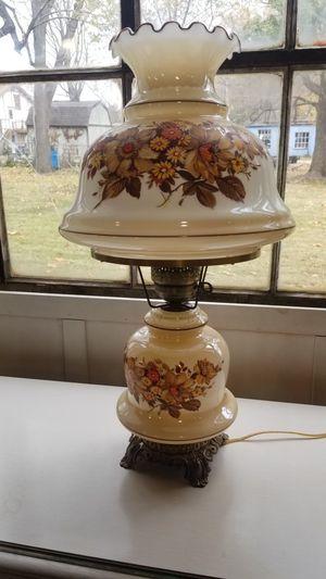 Beautiful vantage kerosene style country lamp for Sale in St. Louis, MO