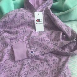 Girls Light Purple Sweater Thumbnail