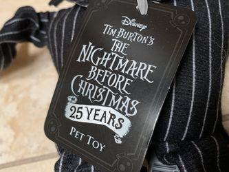 (2) Nightmare Before Christmas Jack Skellington Dog Toy Thumbnail