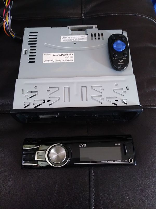 JVC KD-S38 CD/MP3 car stereo for Sale in Adelanto, CA - OfferUp on toyota wiring harness, led wiring harness, automotive wiring harness, kenwood wiring harness, yamaha outboard wiring harness,