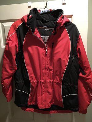 Obermeyer ladies womens ski jacket red black size 14 Purchased new at a ski shop. for Sale in Arlington, VA