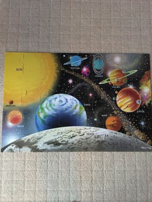 Melissa and Doug solar system puzzle for Sale in Los Angeles, CA