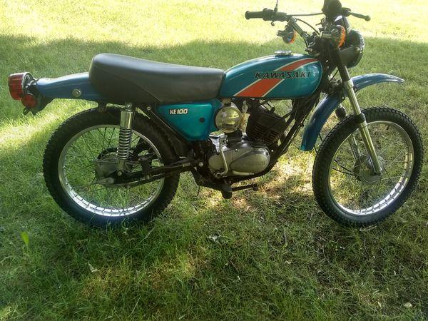 1976 Kawasaki ke100 for Sale in Waterford Township, MI - OfferUp