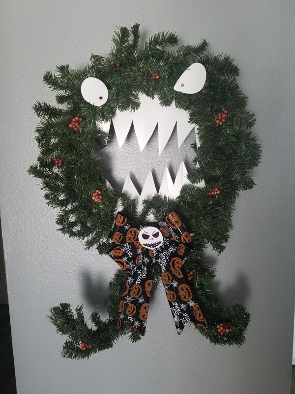 Nightmare Before Christmas Wreath For Sale In Stockton Ca Offerup