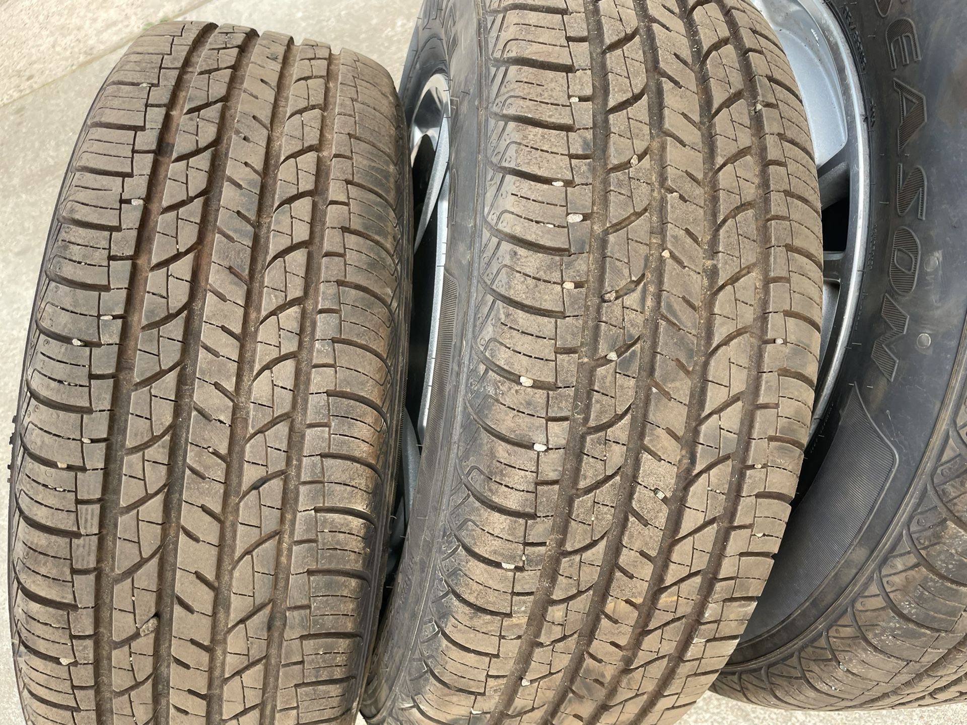 2006-2011 Honda Civic Enkei Wheels 195 65 15 Tires 90%