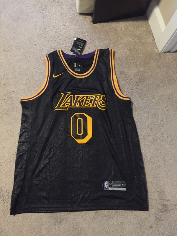 low priced 16bcb 6a576 Kyle Kuzma lakers kobe black mamba jersey for Sale in Alhambra, CA - OfferUp