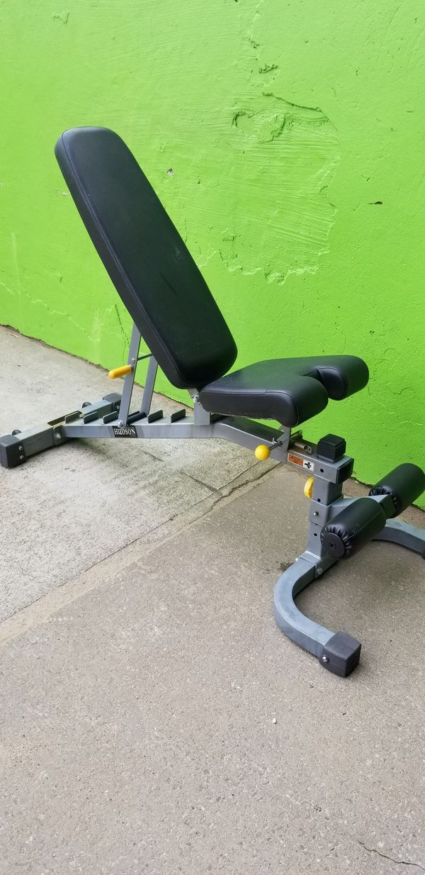 HUDSON STEEL FID ADJUSTABLE WEIGHT BENCH WORKOUT BENCH for Sale in Queens,  NY - OfferUp