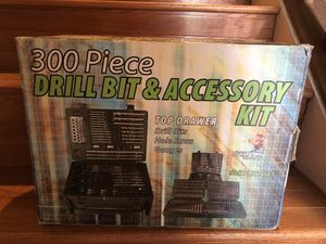 For an electric drill/300 drill bits for Sale in Alexandria, VA