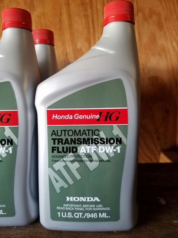 Honda Transmission Fluid Atf Dw 1