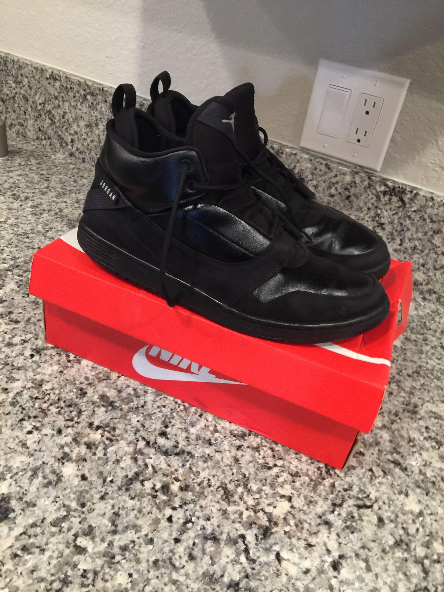 Air Jordan's black size 11