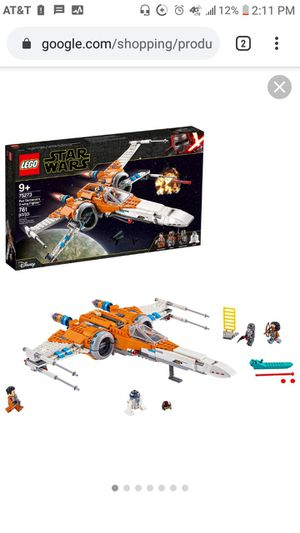 Photo LEGO Star Wars Poe Dameron's X-Wing Starfighter