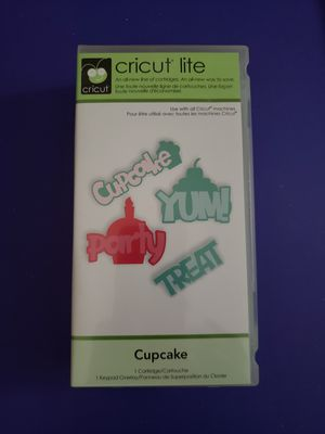 Photo Cricut Lite Cartridge Cupcake