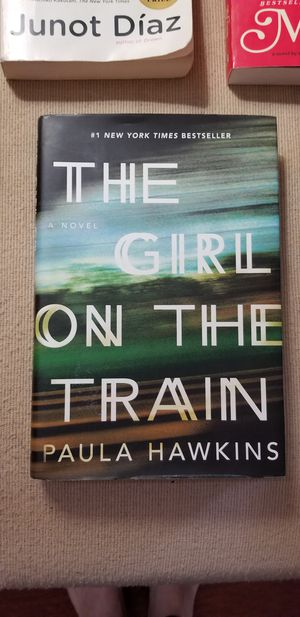 The Girl on the Train by Paula Hawkins hardcover for Sale in Cleveland, OH