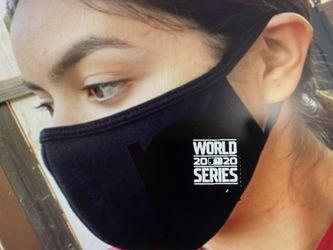 Dodgers World Series face masks Thumbnail