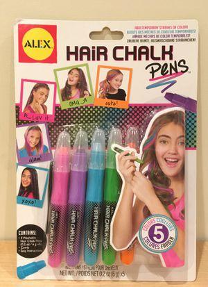 NEW IN BOX Kids Alex hair chalk pens for Sale in Alexandria, VA