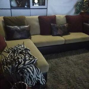 Microfiber and Leather Sectional Sofa for Sale in Fort Lauderdale, FL