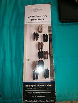 Mainstays Over-the-Door Shoe Rack Thumbnail
